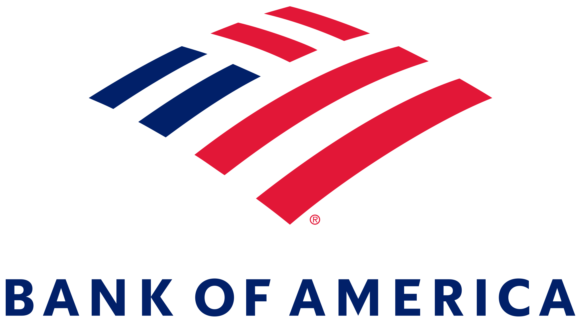 bank of america logo stacked a