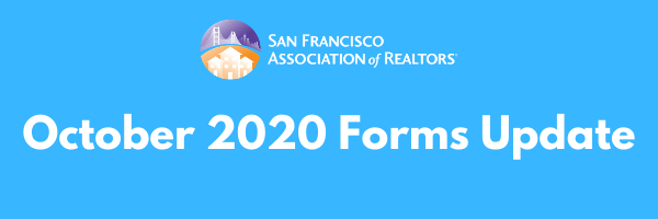 October 2020 Forms Update