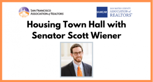Housing Town Hall with Senator Scott Wiener